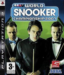 Jogo PS3 Usado World Snooker Championship 2007
