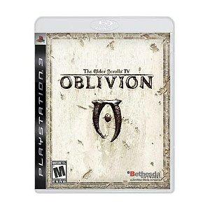 Jogo PS3 Usado The Elder Scrolls IV Oblivion