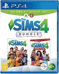 Jogo PS4 Usado The Sims 4 + Gatos e cães bundle