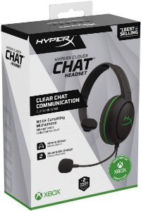Headset Novo HyperX CloudX Chat Xbox One