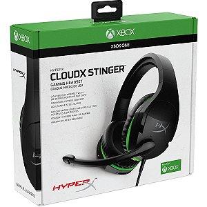 Headset Novo HyperX CloudX Stinger Xbox One Com Fio