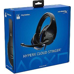 Headset Novo HyperX Cloud Stinger PS4 Com Fio