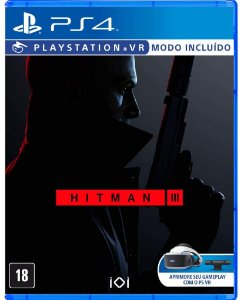 Jogo PS4 Novo Hitman III