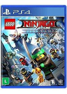 Jogo PS4 Novo LEGO Ninjago