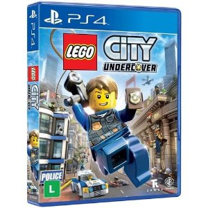 Jogo PS4 Novo LEGO City Undercover