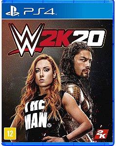 Jogo PS4 Usado WWE 2K20