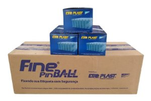 Fine Pin Ball 50mm EtiqPlast - Caixa Master c/ 50.000 und