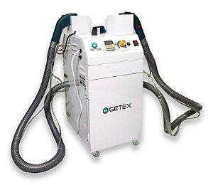 Máquina de Arrematar Fios 2 Cabeças - 2 Motores