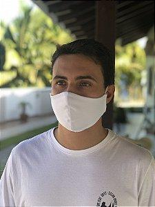 Máscara Tecido Duplo - Branco
