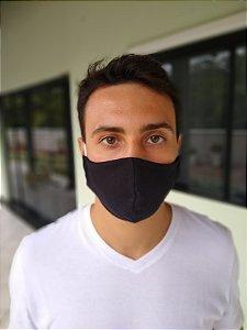 Máscara Tecido Duplo - Preto