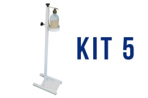 KIT 5 UND - DISPENSER GEL