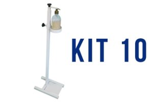 KIT 10 UND - DISPENSER GEL