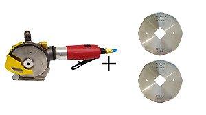 Kit Máquina De Corte Pneumática 4''  + 2 Discos