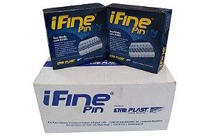 I Fine Pin 18mm Etiqplast - Caixa Master c/ 50.000 und