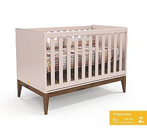 Berço de Bebê Nature Rose Eco Wood Matic