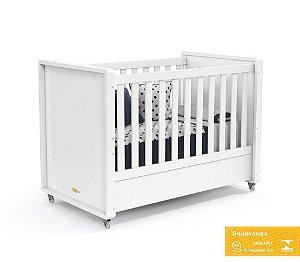 Berço de Bebê Tutto New Branco Soft Matic