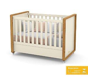 Berço de Bebê Tutto New Off White Freijó Matic