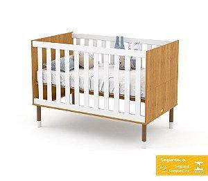 Berço de Bebê Up Freijó Branco Soft Matic