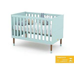 Berço de Bebê Up Menta Eco Wood Matic