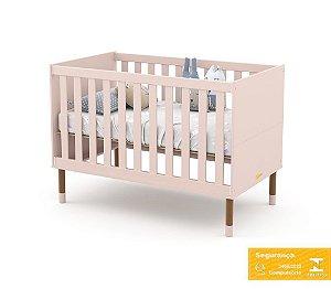 Berço de Bebê Up Rose Eco Wood Matic