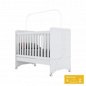 Berço de Bebê Pão de Mel Branco Henn
