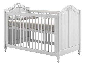 Berço de Bebê Paris Branco Puppi Mobile