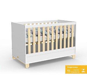 Berço de Bebê Rope Branco Soft Natural Matic