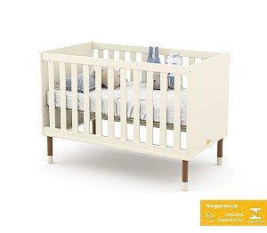 Berço de Bebê Up Off White Eco Wood Matic