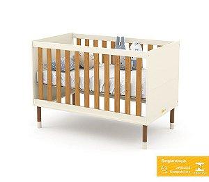 Berço de Bebê Up Off White Freijó Eco Wood Matic