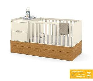 Berço de Bebê Formare Off White Freijó Matic