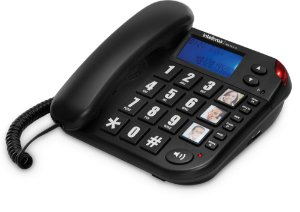 Telefone com fio Tok Fácil ID Intelbras