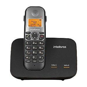 Telefone Sem Fio Digital Com Entrada Para 2 Linhas TS 5150 Intelbras