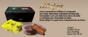 ALFAJOR DISPLAY COM 30UN 40GR