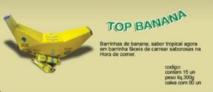 TOP BANANINHA DISPLAY COM 40UN