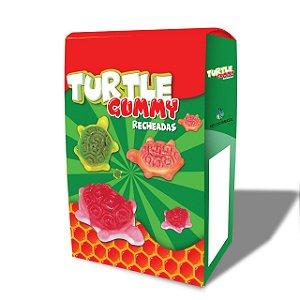 GUMMY TURTLE RECHEADO COM 50UN