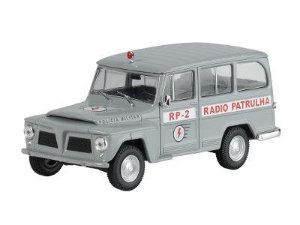 Willys Rural Rádio Patrulha
