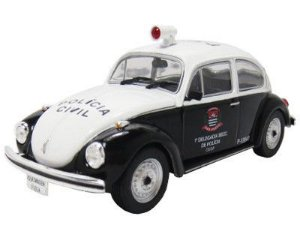 Volkswagen Fusca Polícia Civil