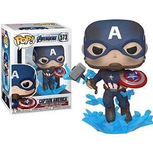 Funko Pop Marvel Vingadores Ultimato - Capitão América 573