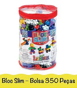 Blocos De Montar Brinquedo Infantil Encaixe Com Lego 350 Peças