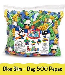 Blocos De Montar Brinquedo Infantil Encaixe Com Lego 500 Peças