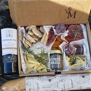 Caixa de Frios - Pais + Vinho
