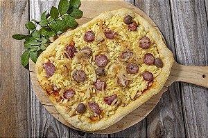 Pizza Levain Calabresa Com Cebolas Grande