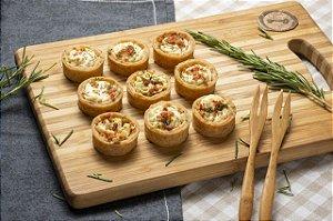 Panelinha de Cream cheese e Parma com 24 unidades