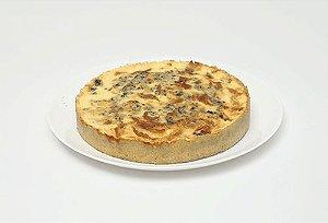 Quiche de Cebola Caramelada com Gorgonzola Médio