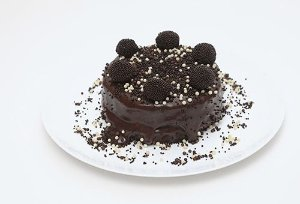 Torta de Negrinho e Branquinho Pequena