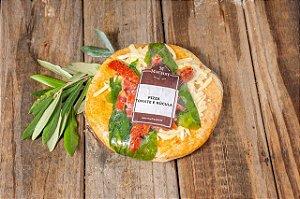 Pizza Integral de Rúcula e Tomate - Individual