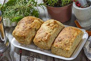 Pão de Ervas com Azeitona - 3 unidades