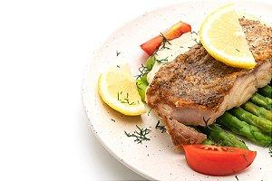 Peixe Grelhado (Individual)
