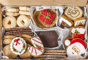 Caixa Biscoitos