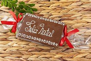 PLACA CHOCOLATE - FELIZ NATAL